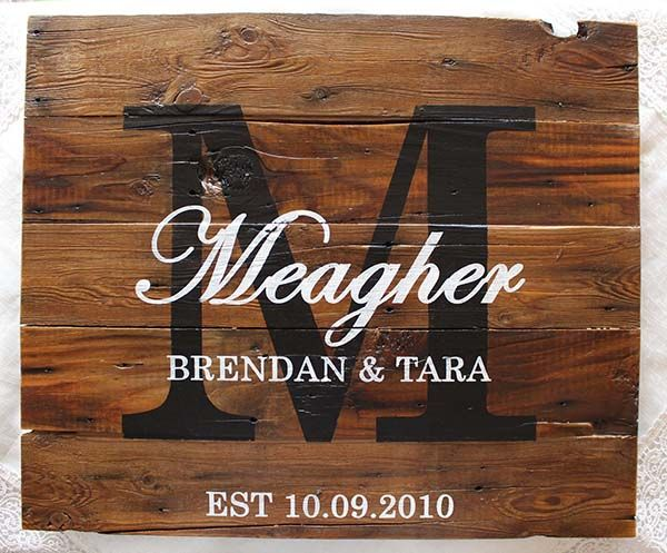 Wedding Amp Anniversary Sign Brown 15 Quot X18 Quot Rustic Sign Night